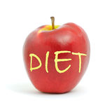 Apple diet Stock Photography