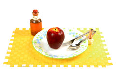 Apple diet Stock Photos