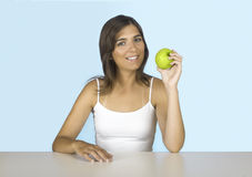 Apple diet Stock Photo
