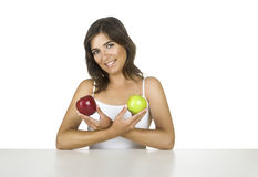 Apple diet Royalty Free Stock Photos