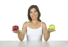 Apple diet Stock Images