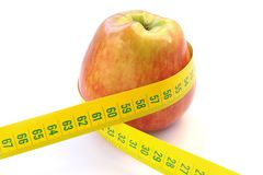 Apple Diet stock image