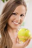 apple diet Στοκ φωτογραφίες με δικαίωμα ελεύθερης χρήσης