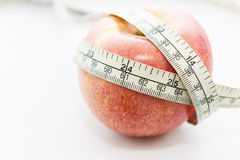 Apple diet concept Stock Photos