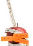 Apple diet concept. Royalty Free Stock Photo