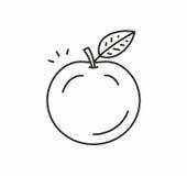 Apple dirigent l'icône Photographie stock