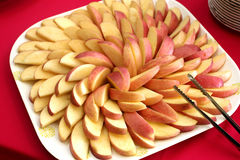 Apple dla cateringu Zdjęcie Royalty Free