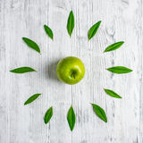Apple do tempo Foto de Stock Royalty Free