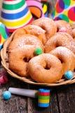 Apple donut Royalty Free Stock Photo