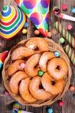 Apple donut Royalty Free Stock Image