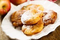 Apple donuts Στοκ φωτογραφίες με δικαίωμα ελεύθερης χρήσης