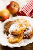 Apple donuts Στοκ φωτογραφία με δικαίωμα ελεύθερης χρήσης