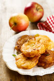 Apple donuts Στοκ Εικόνες