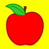 Apple - doodle Royalty Free Stock Photo