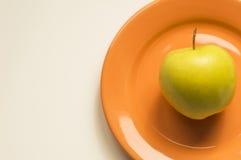Apple dourado Imagem de Stock