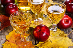Apple drink royaltyfri fotografi
