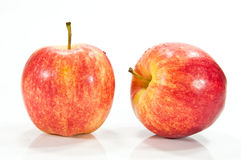 Apple with drop Stock Photo