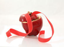 Apple e cannella Fotografia Stock Libera da Diritti