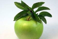 Apple e hortelã Imagens de Stock Royalty Free