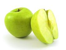 Apple e mezzo Fotografia Stock Libera da Diritti