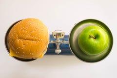 Apple e panettiere Fotografie Stock Libere da Diritti