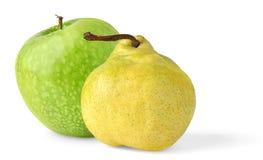 Apple e pera Fotos de Stock Royalty Free