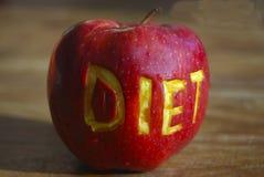 Apple e saúde imagem de stock royalty free