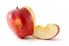 Apple e sua fatia fotografia de stock royalty free