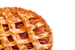 Apple e torta della cannella Fotografia Stock