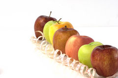 Apple ein Tag für eine gesunde Woche Stockfoto