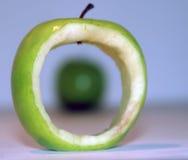 Apple in einem Apfel Stockfoto