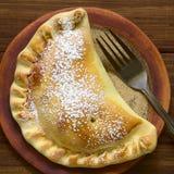 Η της Χιλής Apple Empanada Στοκ Εικόνα