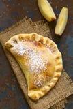 Η της Χιλής Apple Empanada Στοκ Φωτογραφίες