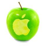 Apple en Apple fotografía de archivo libre de regalías