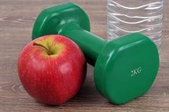 Apple en domoor dichte omhooggaand stock afbeelding