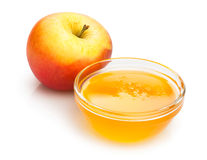 Apple en honing Royalty-vrije Stock Foto