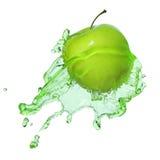 Apple en jus images stock