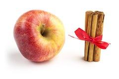Apple en kaneel Royalty-vrije Stock Fotografie