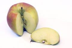 Apple en plak Royalty-vrije Stock Afbeeldingen