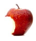 Apple en rojo Imagen de archivo libre de regalías