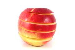 Apple en secciones Foto de archivo