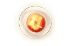Apple en tazón de fuente Fotos de archivo