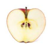Apple en un corte fotografía de archivo libre de regalías