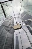 Apple entreposé à Changhaï Chine photographie stock
