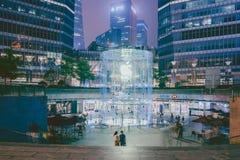 Apple entreposé à Changhaï, Chine photos libres de droits