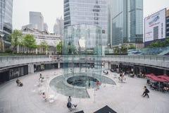 Apple entreposé à Changhaï, Chine photo stock