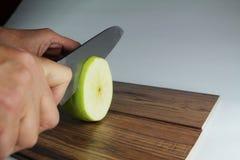 Apple es corazón-amistoso Imagen de archivo libre de regalías