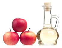 Apple-Essig Lizenzfreies Stockbild