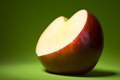 Apple et amour. Image stock