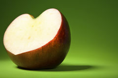 Apple et amour. Photographie stock